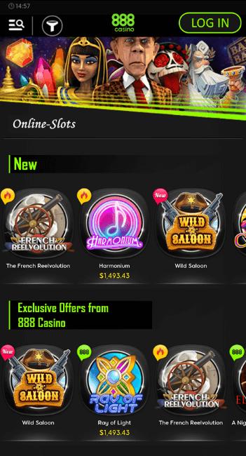 China shores free slots