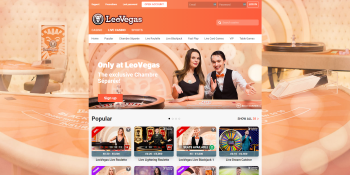 Leo Vegas gives you the opportunity to play live casino games.